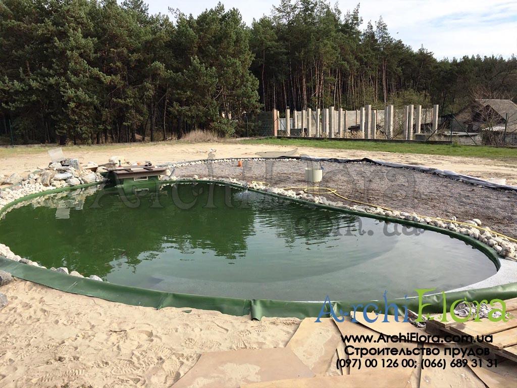 Гидроизоляция бассейнов фонтанов в